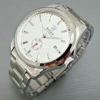 Dijual jam tangan pria/cowok rolex automatic rantai detik bawa Murah