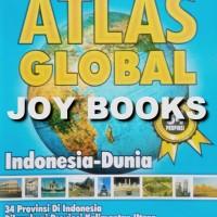 BUKU ATLAS GLOBAL PETA INDONESIA DAN DUNIA SD SMP SMA DAN UMUM
