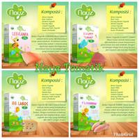 Nayz Bubur Bayi organik Tematik 300 g - Elhappy Tummy