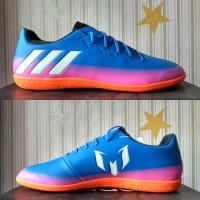 Sepatu futsal adidas Messi 16.3 blue BA9018 original