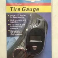 Alat Pengukur/Ukur Tekanan Angin/Ban Digital Keychain Tire/Tyre Gauge