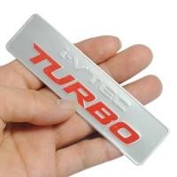 EMBLEM METAL i VTEC TURBO FOR HONDA CIVIC FIT ACCORD JAZZ CRV