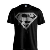 KAOS BIG SIZE SUPERMAN.KAOS SUPERMAN BIG SIZE.KAOS SUPERHERO