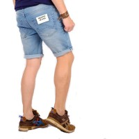 celana pria denim pendek / celana pendek pria denim / celana jeans