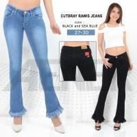 Celana Cutbray Rawis Jeans Pants Girl Wanita Women Fashion Denim