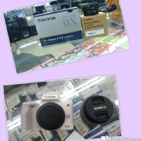 CANON EOS M50 KIT 15-45MM STM +LENSA TOKINA 11-16MM F2.8 FOR CANON