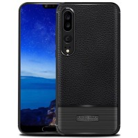 LEATHER ARMOR case Huawei P20 - P20 Pro softcase casing back cover tpu