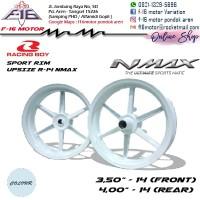 Velg Racing Boy RCB NMAX UPSIZE R 14 PUTIH