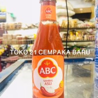 ABC SAMBAL ASLI Botol 335 ml | Saus Saos Sambel Pedas ABC 335ml Murah