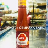 ABC Sambal EXTRA PEDAS Botol 135 ml | Saos Saus Sambel Pedes ABC 135ml