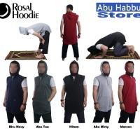 Rompi Shalat Hoodie - PAKAIAN BAJU GAMIS JUBAH MUSLIM PRIA LAKI-LAKI