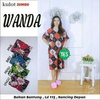 Setelan kulot jumbo batik pekalongan / baju menyusui / babydoll murah