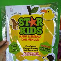 Buku STAR KIDS: MAHIR MEMBACA DAN MENULIS Bonus Spidol & Penghapus
