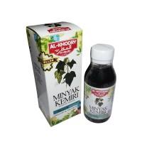 Minyak Kemiri Al khodry penumbuh rambut (sejenis kukui) Black Original