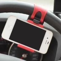 Aksesoris Mobil Modern Gantungan Penjepit Gadget Kemudi Mobil Simple