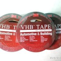 Double tape 3M VHB Ukuran 12 mm x 4,5 m ORIGINAL