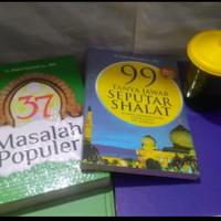 Buku 37 masalah populer dan 99 tanya jawab seputar shalat