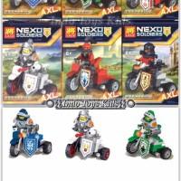 Lele 32006 1-6 Set Nexo Knights