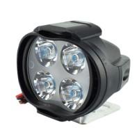 Lampu Tembak Sorot LED Spion Motor Cree 4 Mata 12W Spotlight