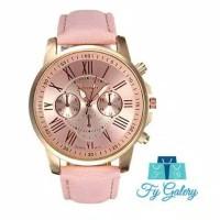 Fyg jam tangan geneva leather quartz