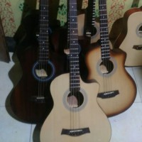 Gitar bass akustik elektrik tuner