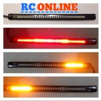 lampu led flexible led rem tambahan motor mobil bisa sein