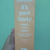 Stretch mark cream by mothercare