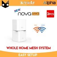 Tenda Nova MW3 2Pcs Dual Band Mesh Wifi MIMO Router Repeater AC1200