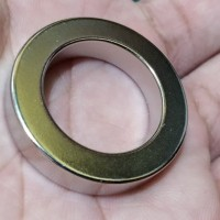 MAGNET NEODYMIUM RING DONUT SUPER KUAT 30x20x6mm SILVER SUPER STRONG