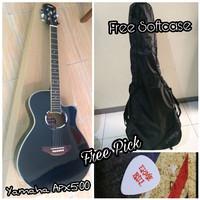 Gitar Akustik Yamaha APX500 / APX 500 HITAM GOJEK ONLY