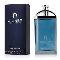 Parfume Pria Ori Eropa Aigner Blue Emotion Parfum Original Reject Laki
