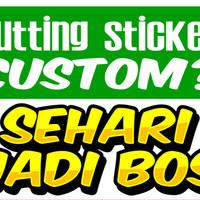 Pesanan Kelipatan Seribu (Cutting Sticker Custom Motor Mobil Helmet)