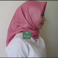 Jilbab kerudung segiempat shinar gliter Ansania AG-Dusty Pink