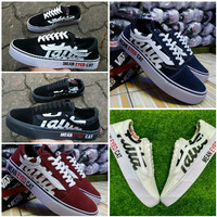 Sepatu Sneakers Vans Old Skool Patta Mean Eyed Cat Premium Original