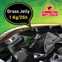 Grass Jelly Powder - Cincau Hitam Bubuk 1kg (Topping Minuman)