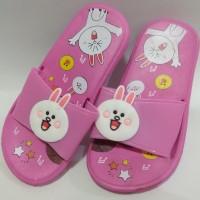 Sandal Slipper Rabbit | Sandal Kamar Anak perempuan Smile Rabbit