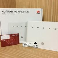 Modem Mifi / Wireless Router HUAWEI B311 4G LTE Free Tsel 14GB(UNLOCK)
