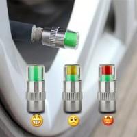 Tutup Pentil Ban Mobil / Motor Indikator Tekanan Angin Ban