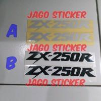 Stiker - Cutting Sticker Kawasaki Ninja ZX 250 R