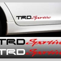 Cutting Sticker - Stiker Kaca Body Mobil TRD Sportivo