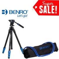 Benro TSL08AS2CSH Slim Video Tripod Kit