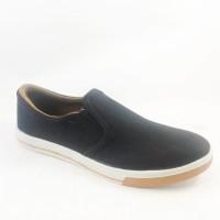 Sepatu Cowok / Sepatu Cewek / Sepatu Slip On Slop Vans Slop Hitam Cokl