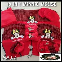 Sarung Jok Mobil Agya Ayla Minnie Mouse Karakter Lucu