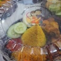 Tumpeng mini / nasi kuning / nasi kotak
