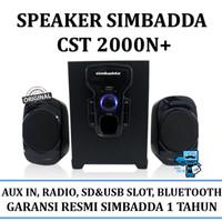 Speaker Simbadda CST 2000N+ (USB/SD, Slot/Bluetooth and VolumeControl)