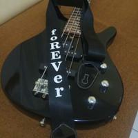 Strap / Tali Gitar foREVer (Bonus 2biji Pick Gitar A7X)