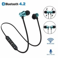Earphone In-Ear Stereo Wireless Bluetooth 4.2 Magnetik //