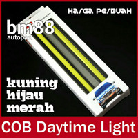 DRL Led Plasma 17cm - COB Merah Kuning Hijau
