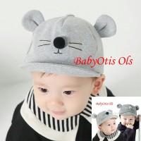 Topi Bayi Topi Anak Topi Anak Bayi Little Mouse 3d