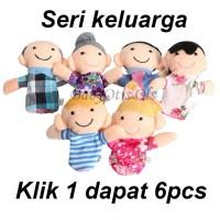 Boneka Jari Family / Family finger puppet